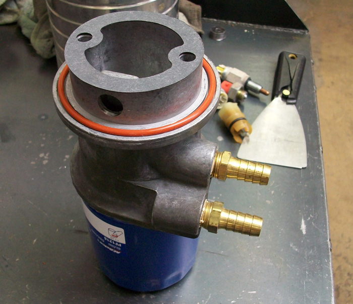 chevy 4x4 oil filter adapter